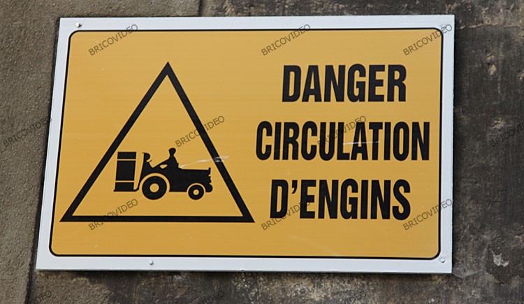 danger travaux