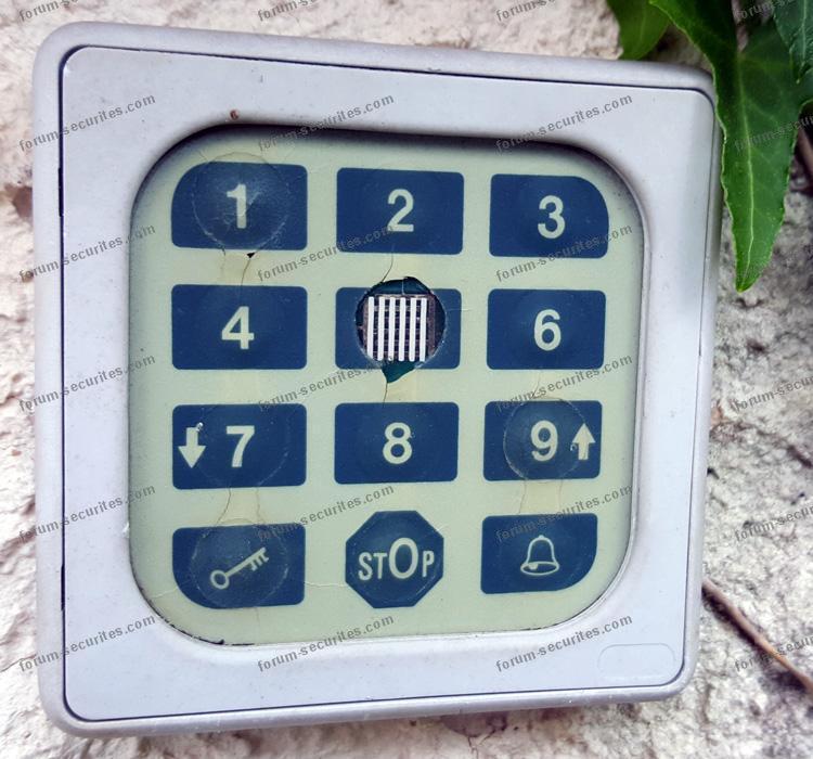 changer le code d'un digicode