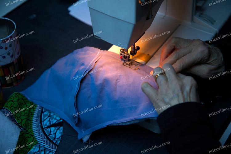 fabrication masque de protection