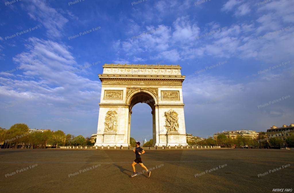 Reportage Paris en période de confinement