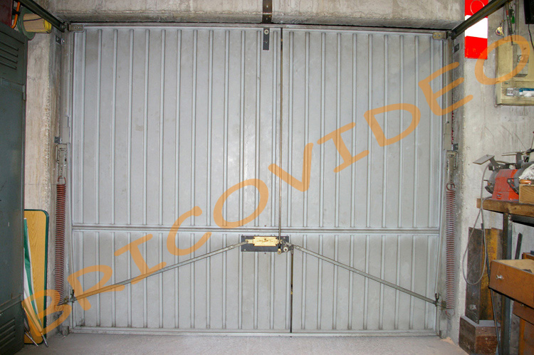 Securite porte garage basculante tableau isolant thermique - Isolant porte de garage basculante ...