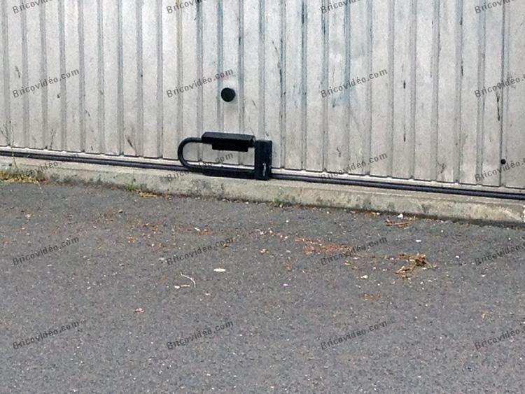 securite porte de garage bricolage